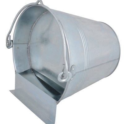 Galvanized Water Bucket for Chicken