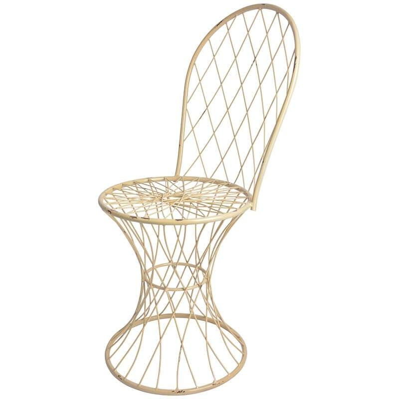 Metal Wire Chair Esschert Design Usa