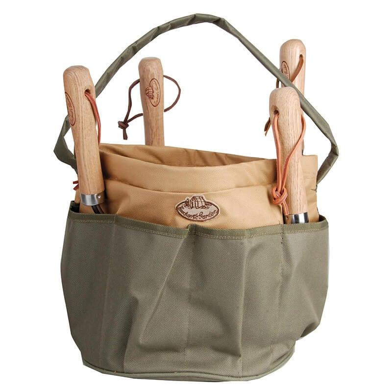 Canvas Round Tool Bag Esschert Design Usa, Canvas Garden Tool Bag