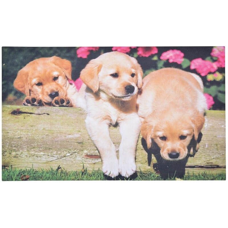 Esschert Design RB185 Doormat Puppies