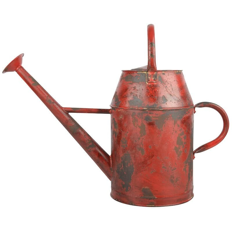 Vintage Watering Can 8 5l Green Blue Red Steel 3 T Colors