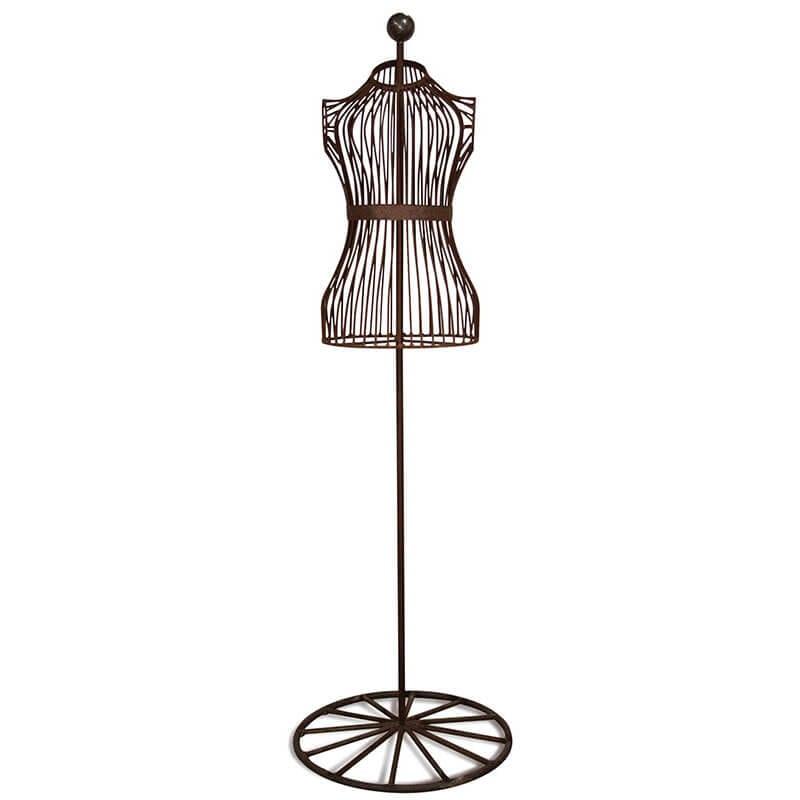 Wire Mannequin Display Figure - Esschert Design USA