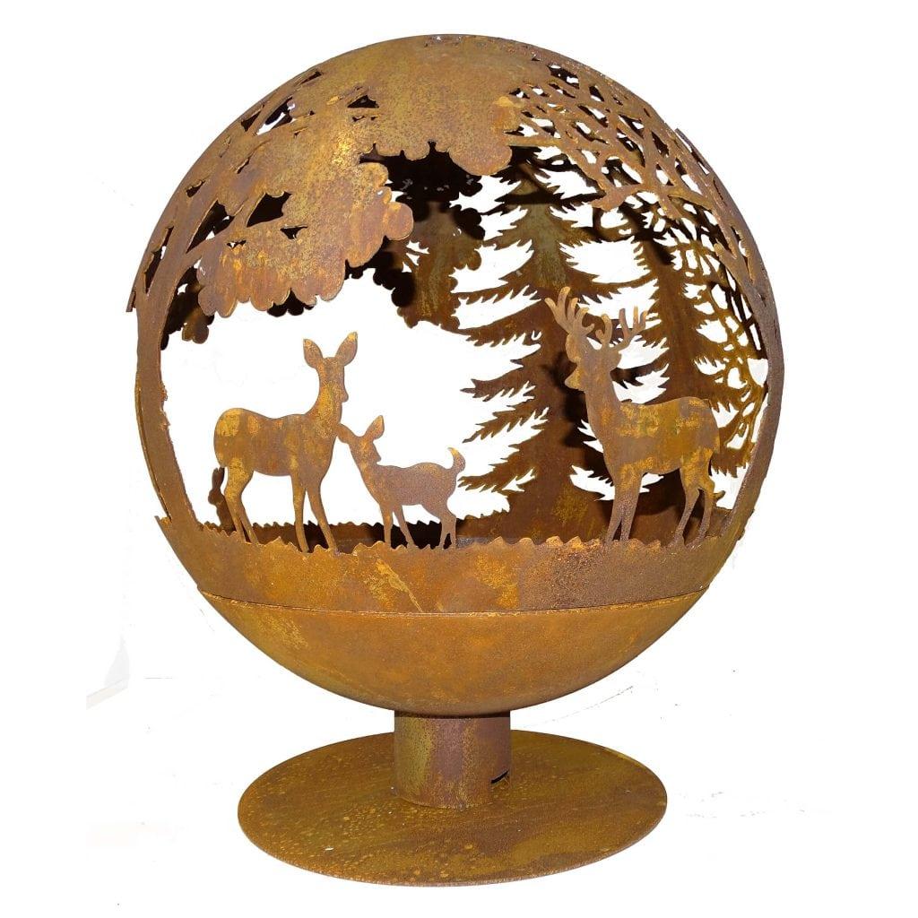 Fire Sphere Wildlife Large Esschert Design Usa