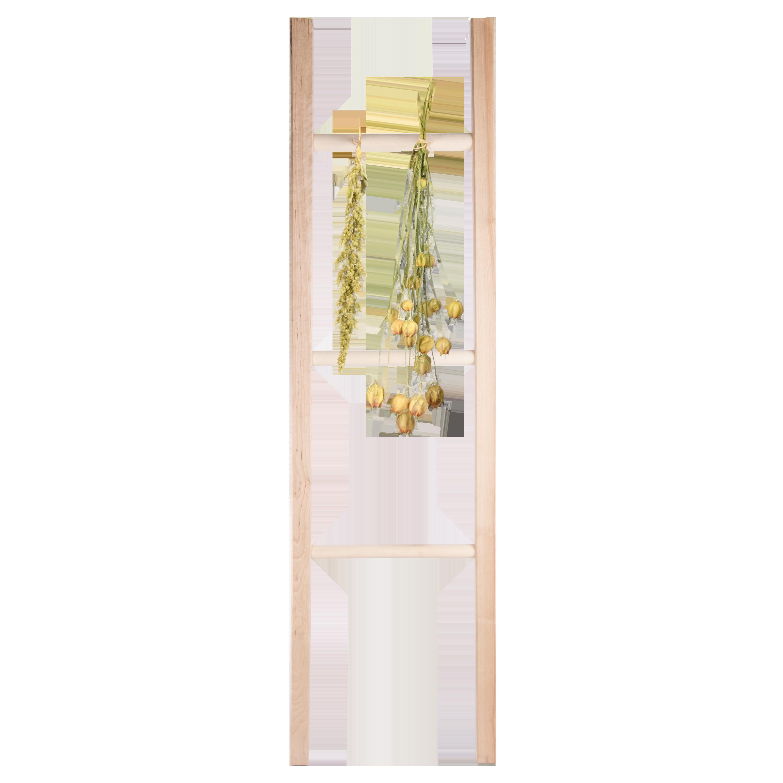 Flower Herb Drying Ladder Wood Esschert Design Usa